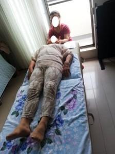 頭蓋仙骨治療1