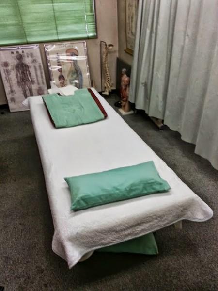 治療院のベット