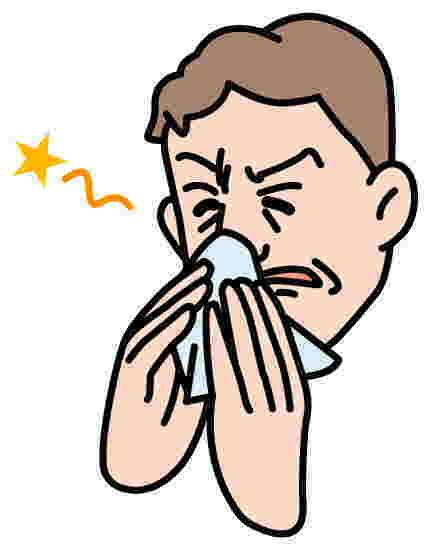花粉症と頭重感を顔面反射セラピーで解消!