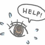 緑内障による眼圧