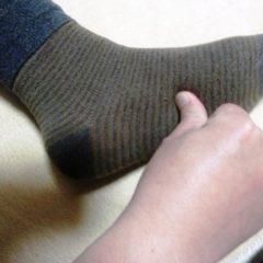 足首捻挫の古傷から首、肩こり波及