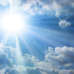 先に与える太陽